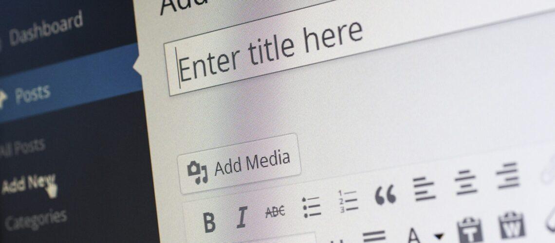 O que é criação e publicação de conteúdos em sites
